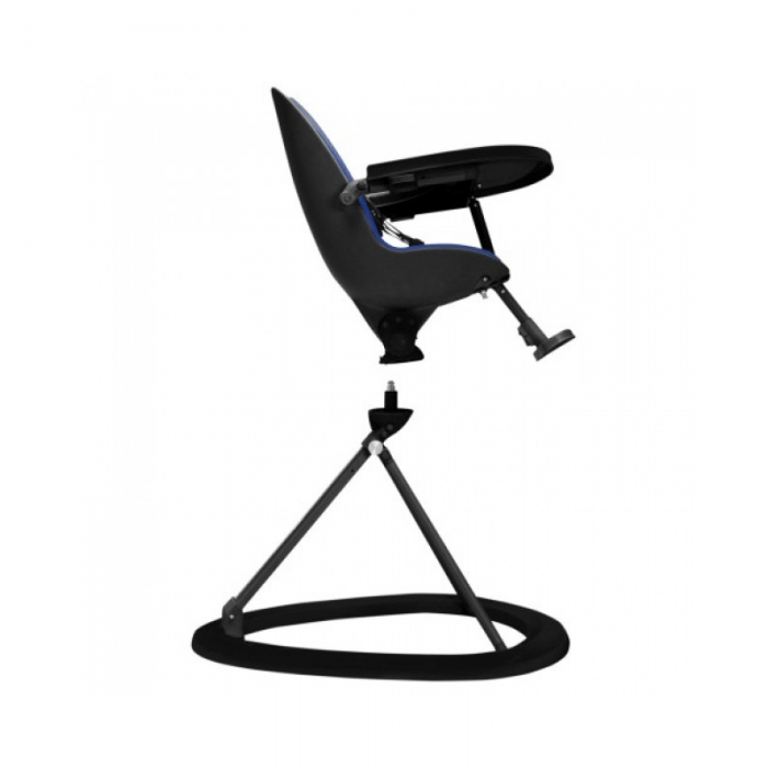 Ickle Bubba Orb Highchair - Blue on Black Frame 360