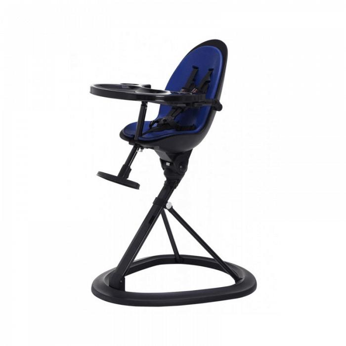 Ickle Bubba Orb Highchair - Blue on Black Frame