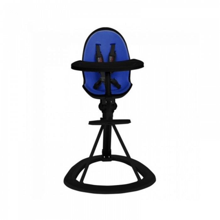 Ickle Bubba Orb Highchair - Blue on Black Frame Front