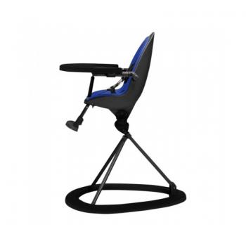 Ickle Bubba Orb Highchair - Blue on Black Frame Side