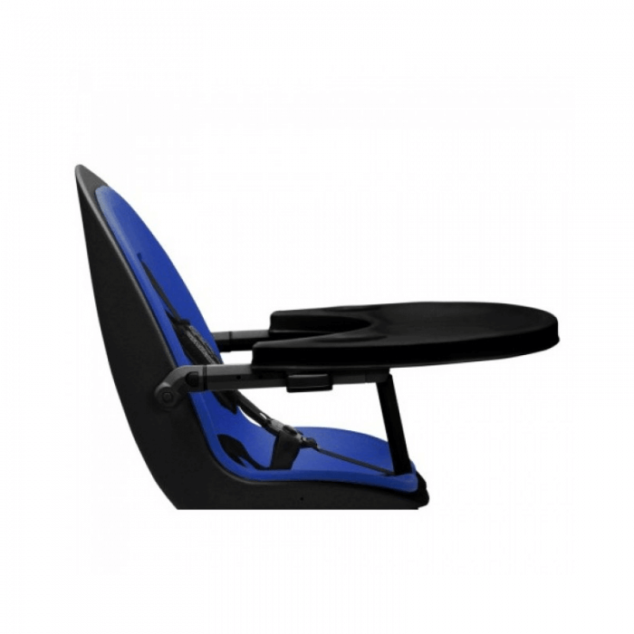 Ickle Bubba Orb Highchair - Blue on Black Frame Tray