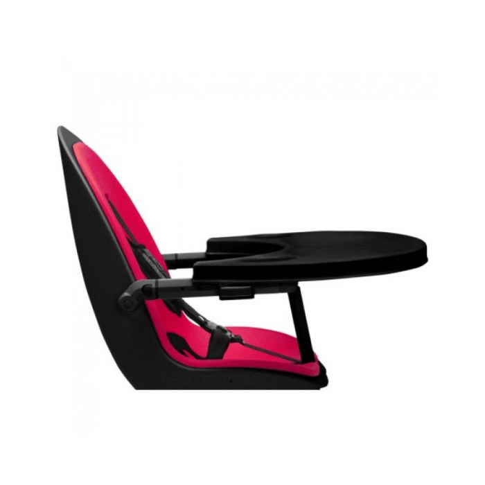 Ickle Bubba Orb Highchair - Pink on Black Frame Tray