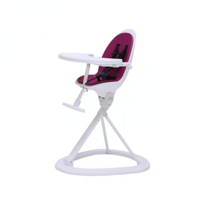 Ickle Bubba Orb Highchair - Purple on White Frame