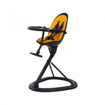 Ickle Bubba Orb Highchair - Yellow on Black Frame