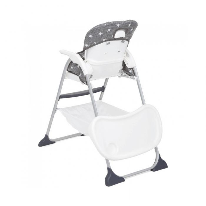 Joie Mimzy Snacker Highchair - Twinkle Linen Back