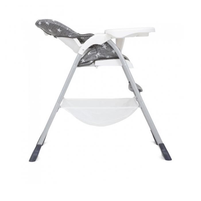 Joie Mimzy Snacker Highchair - Twinkle Linen Recline