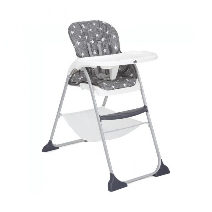 Joie Mimzy Snacker Highchair - Twinkle Linen Side