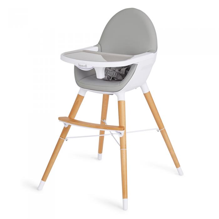 Koo-Di Duo Woodlen Highchair- Side View