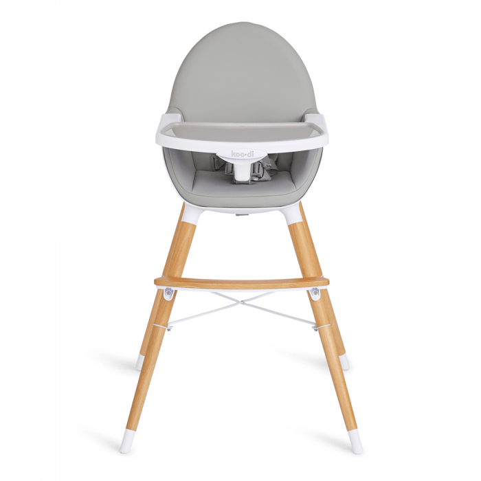 Koo-Di Duo Woodlen Highchair- Front View
