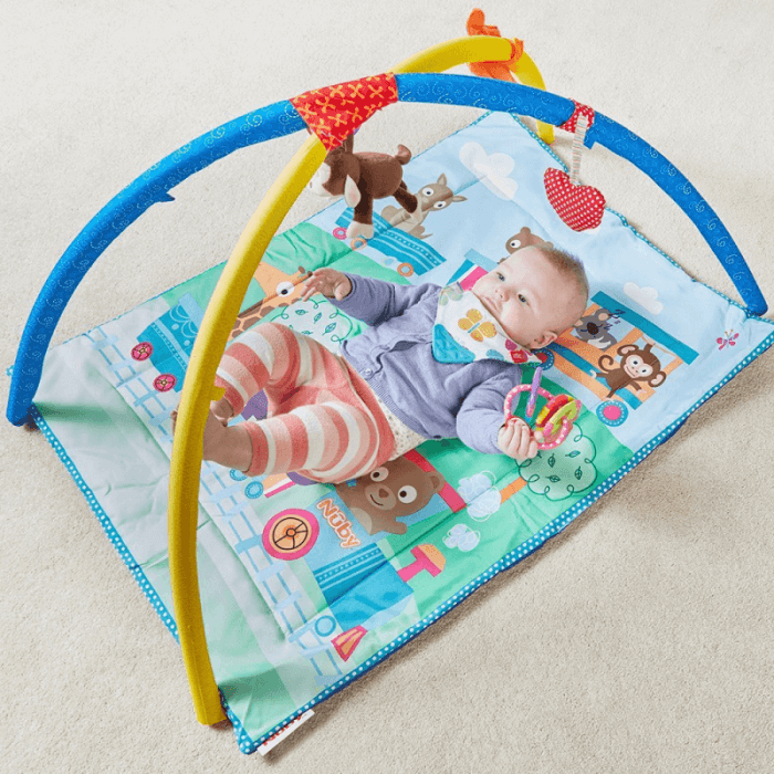 Nuby Activity Play Gym Indoors 2