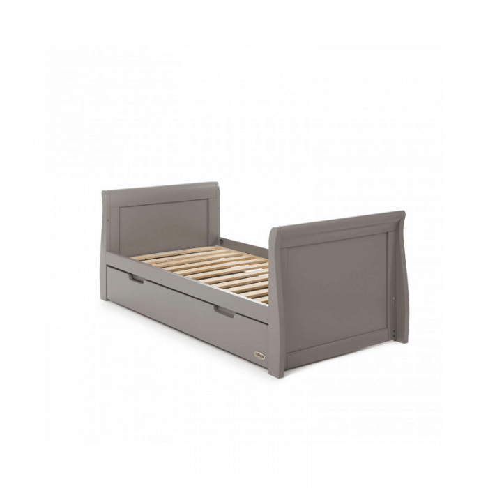 Obaby Stamford 3 Piece Room Set - Taupe Grey Bed