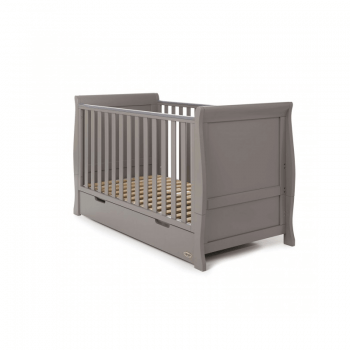 Obaby Stamford 3 Piece Room Set - Taupe Grey Cot