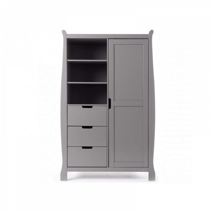 Obaby Stamford Double Wardrobe - Taupe Grey