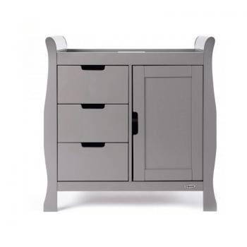 Obaby Stamford Mini 2 Piece Room Set - Taupe Grey Changer 2