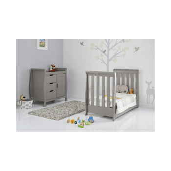 Obaby Stamford Mini 2 Piece Room Set - Taupe Grey Inside 2