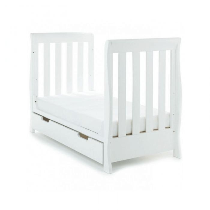 Obaby Stamford Mini 2 Piece Room Set - White Bed