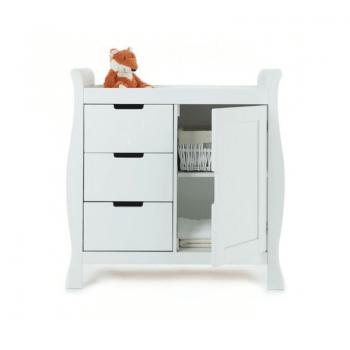 Obaby Stamford Mini 2 Piece Room Set - White Changer 2