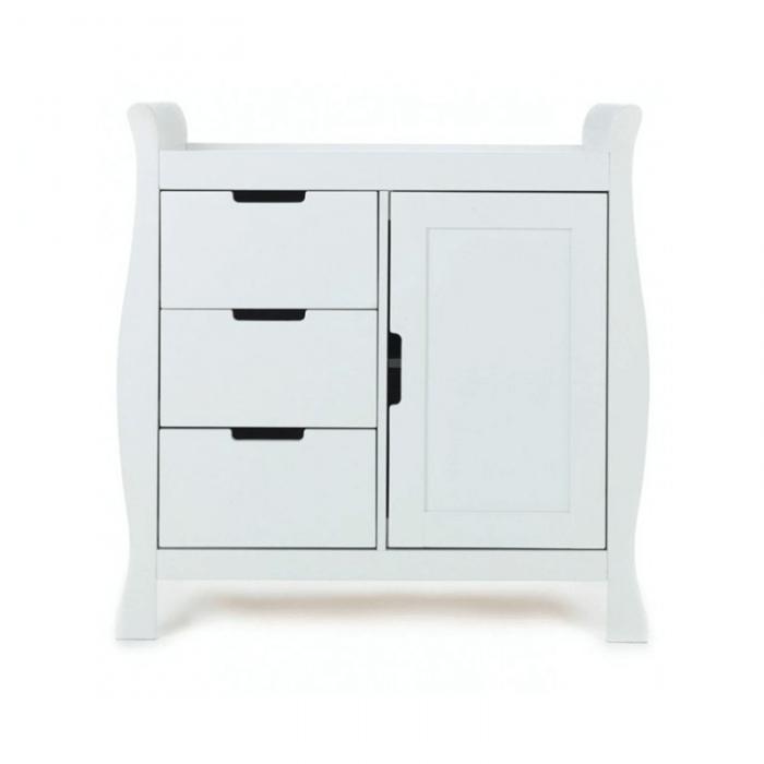 Obaby Stamford Mini 2 Piece Room Set - White Changer