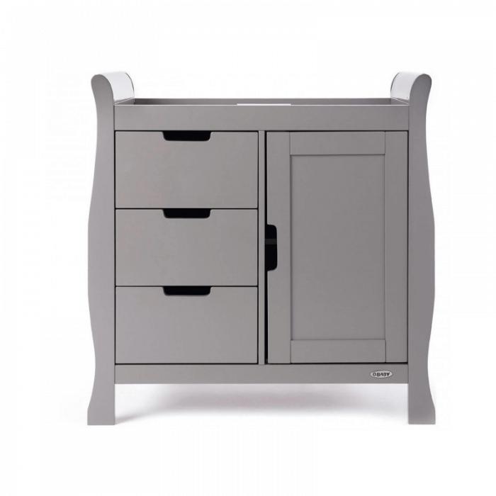 Obaby Stamford Mini 3 Piece Room Set - Taupe Grey Changer