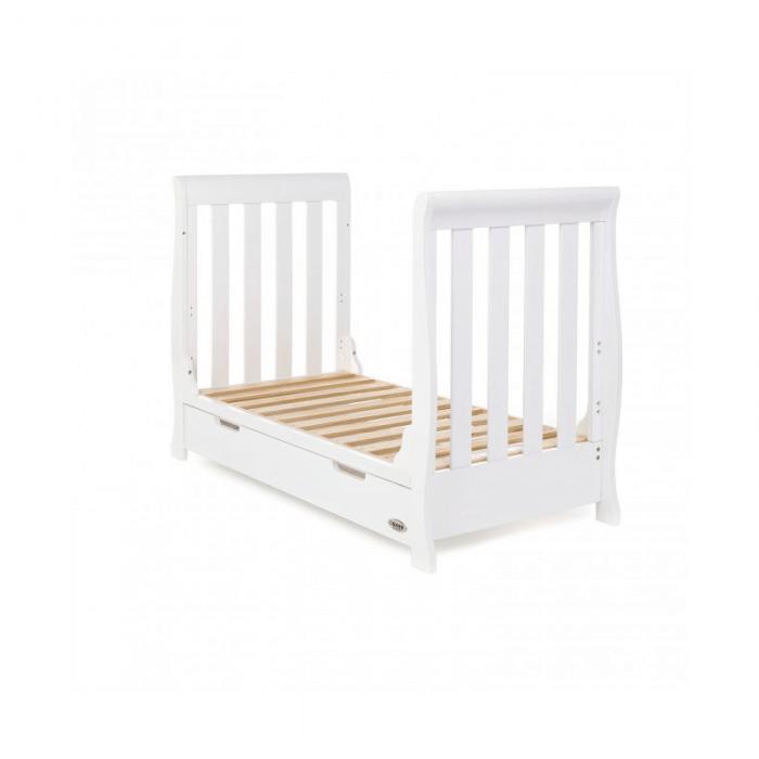 Obaby Stamford Mini 3 Piece Room Set - White Bed