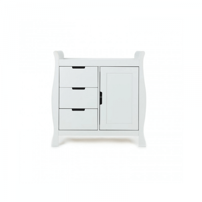 Obaby Stamford Mini 3 Piece Room Set - White Changer