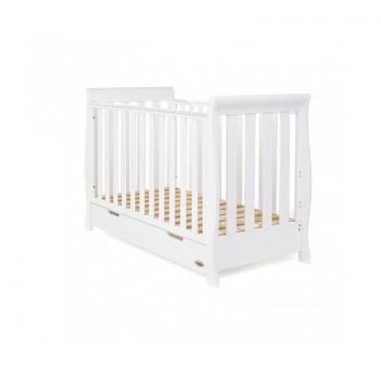 Obaby Stamford Mini 3 Piece Room Set - White Cot