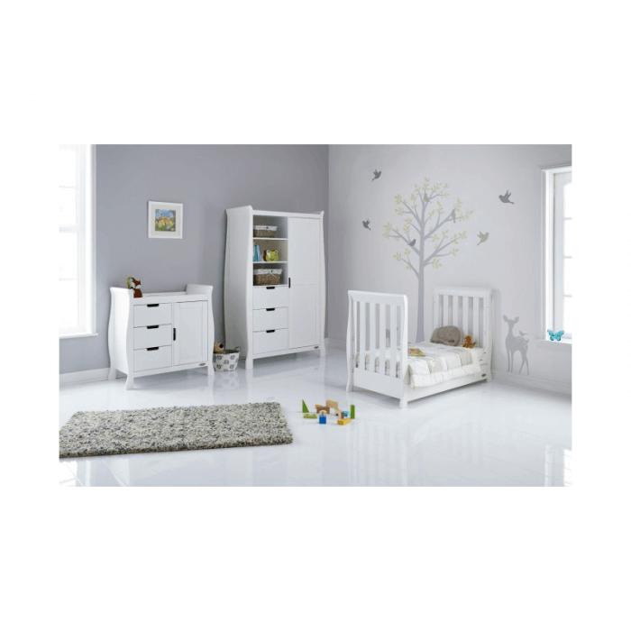 Obaby Stamford Mini 3 Piece Room Set - White Inside 2