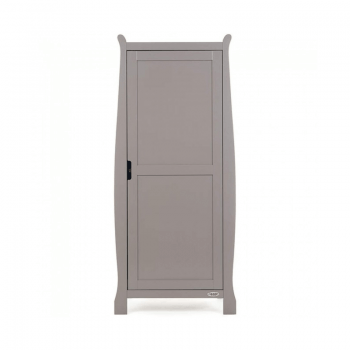 Obaby Stamford Single Wardrobe - Taupe Grey
