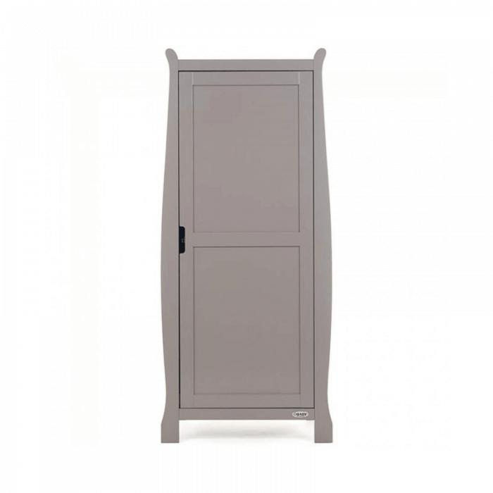 Obaby Stamford Single Wardrobe - Taupe Grey