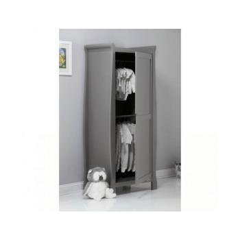 Obaby Stamford Single Wardrobe - Taupe Grey Inside