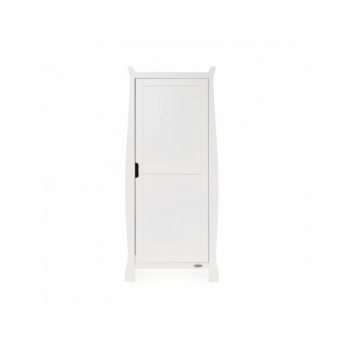 Obaby Stamford Single Wardrobe - White