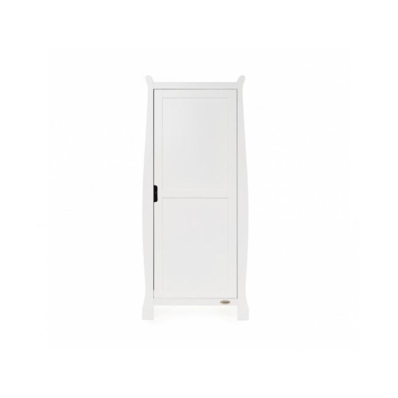 Obaby Stamford Single Wardrobe - White