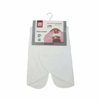 Red Castle Babynomade 0-6 Months Summer White Blanket