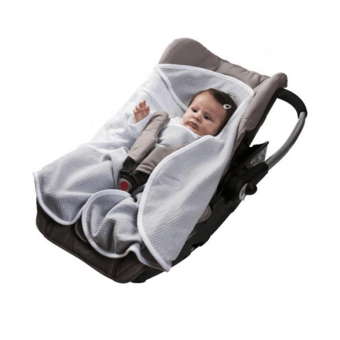 Red Castle Babynomade 0-6 Months Summer White Blanket Seat