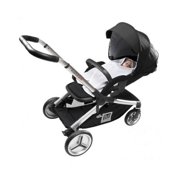 Red Castle Babynomade 0-6 Months Summer White Blanket Stroller