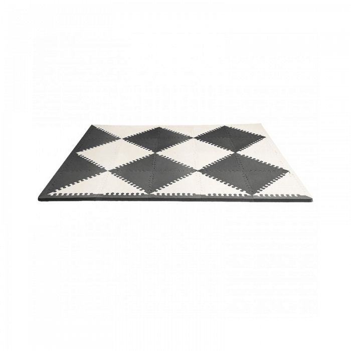 Skip Hop Geo Playmat - Black-Cream