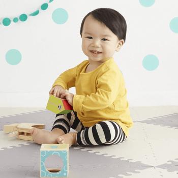 Skip Hop Geo Playmat - Grey-Cream Play Time