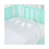 BreathableBaby Fitted 3-in-1 Mattress Pad - White Under