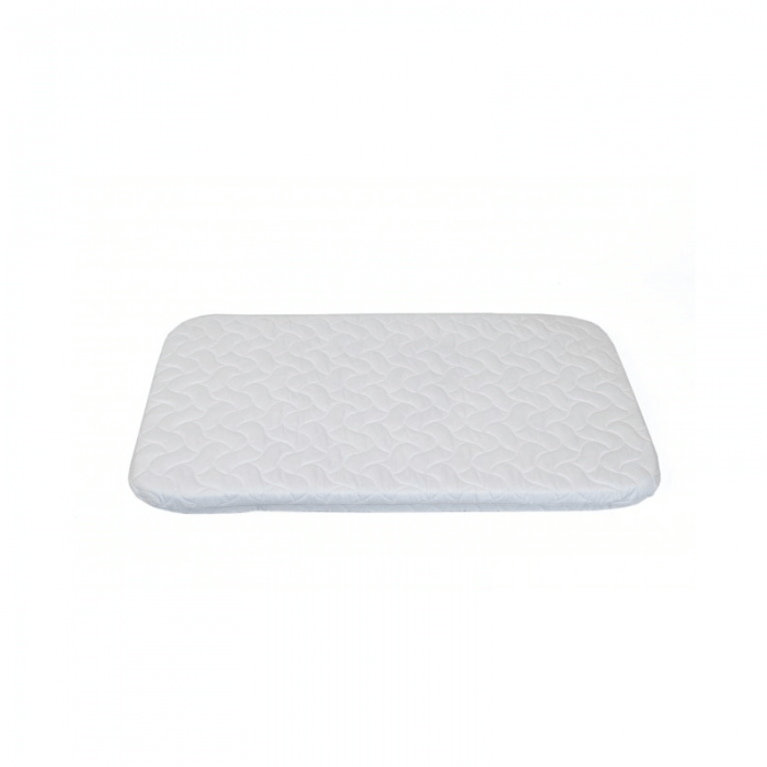 Chicco Replacement Next2Me Mattress With Quilted Microfiber Cover - White 2