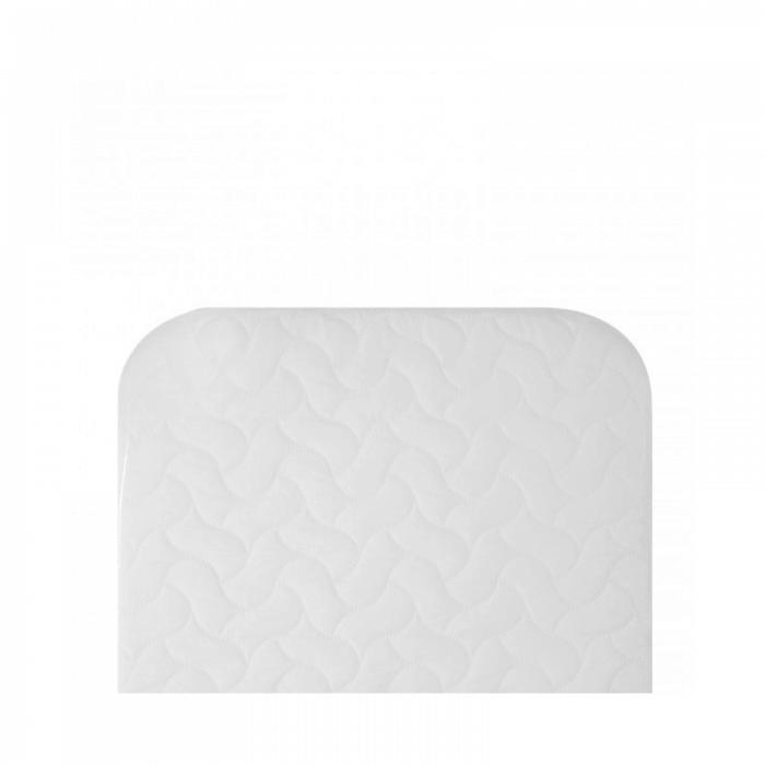 Chicco Replacement Next2Me Mattress With Quilted Microfiber Cover - White Top