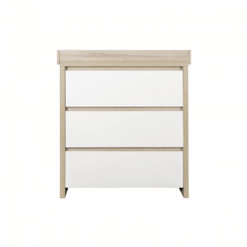 Tutti Bambini Modena 3 Piece Room Set Chest of Drawers