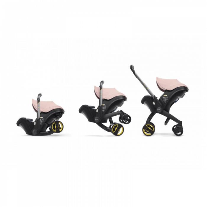 Doona Group 0+ Car Seat Stroller - Blush Pink 9