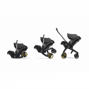 Doona Group 0+ Car Seat Stroller - Nitro Black 4