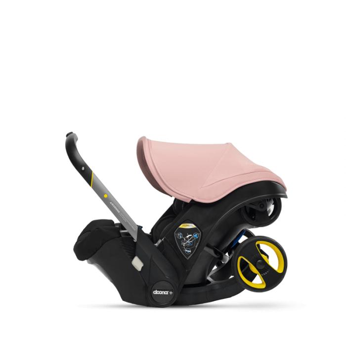 Doona Group 0+ Car Seat Stroller - Blush Pink 2