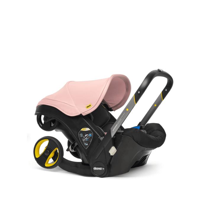Doona Group 0+ Car Seat Stroller - Blush Pink 1