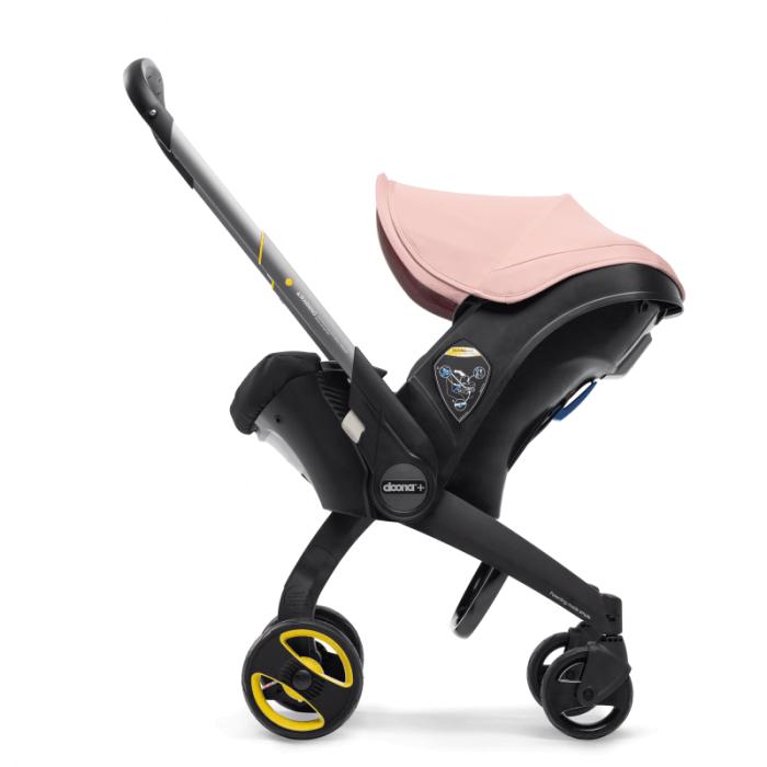 Doona Group 0+ Car Seat Stroller - Blush Pink 5