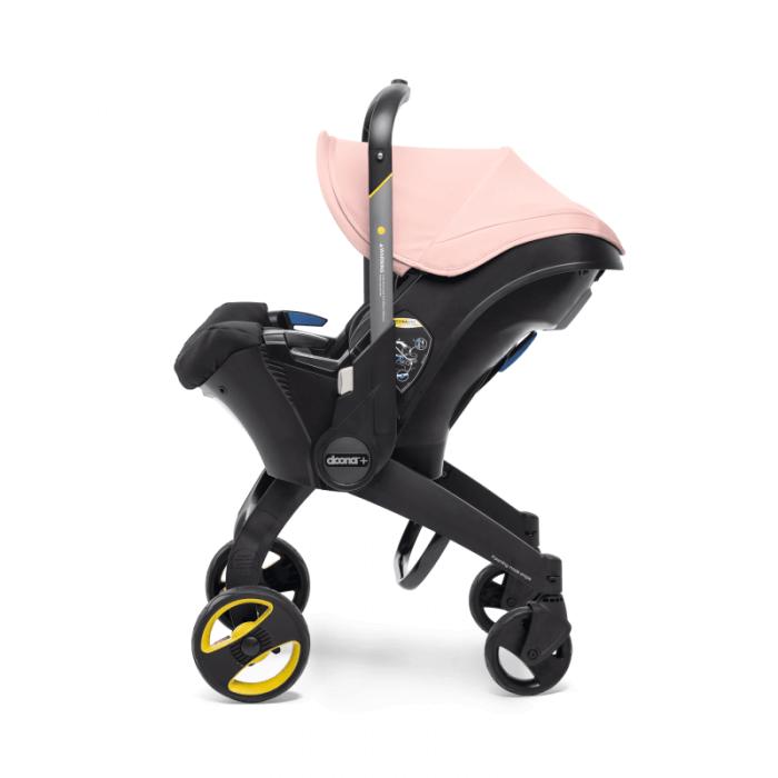 Doona Group 0+ Car Seat Stroller - Blush Pink 7