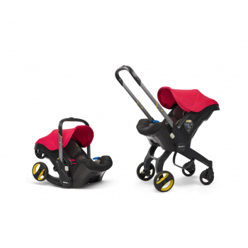 Doona Group 0+ Car Seat Stroller - Flame Red 2