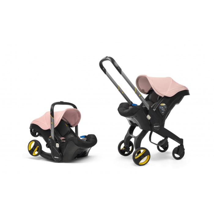 Doona Group 0+ Car Seat Stroller - Blush Pink 8
