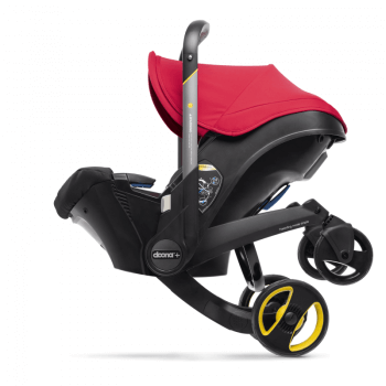 Doona Group 0+ Car Seat Stroller - Flame Red 9
